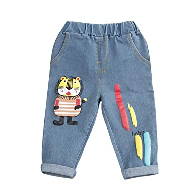 Amuse-MIUMIU - Pantalones Vaqueros Unisex para niños: Amazon ...