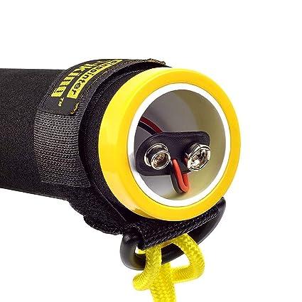 TOPQSC PI-iking 730 - Detector de Metales bajo el Agua, Impermeable, de Mano, Resistente al Agua, para Caza, con tecnolog¡§AA de inducci¡§n de Pulso: ...