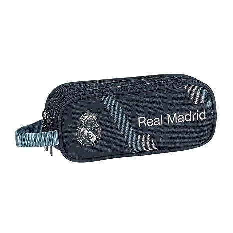 Amazon.com: Real Madrid Second Kit Estuche Triple Lápiz ...