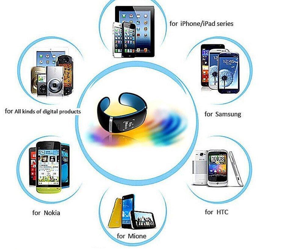 Universal comprar nuevo L12S U OLED pulsera reloj de pulsera Pantalla Táctil reloj inteligente deportes apoyo NFC reproductor de ...