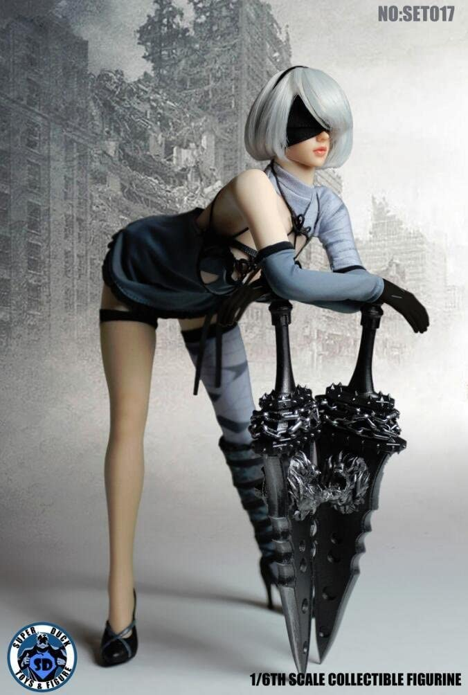 1//6 scale toy Nier Automata White Panties YoRHa 2B