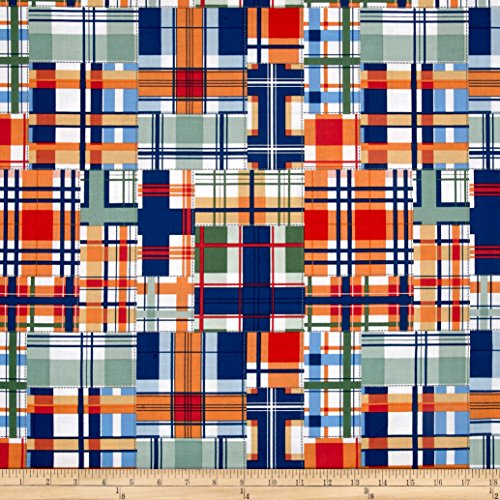 (Michael Miller Madras Patch Cheer Fabric by The Yard)