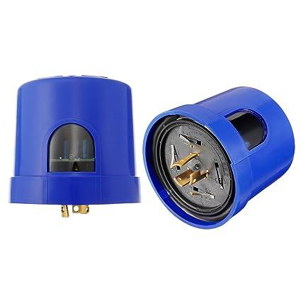 Amazon.com: uxcell 2 Packs Twist-Lock Photocell Sensor ... on
