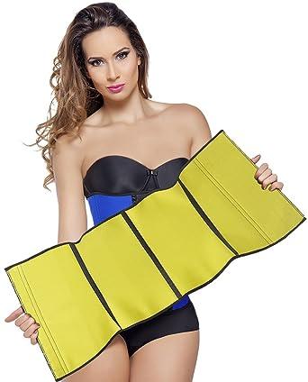 b7bda9a0a1d Amazon.com  Ann Michell NeoLatex Hot Lining Waist Trainer  Clothing