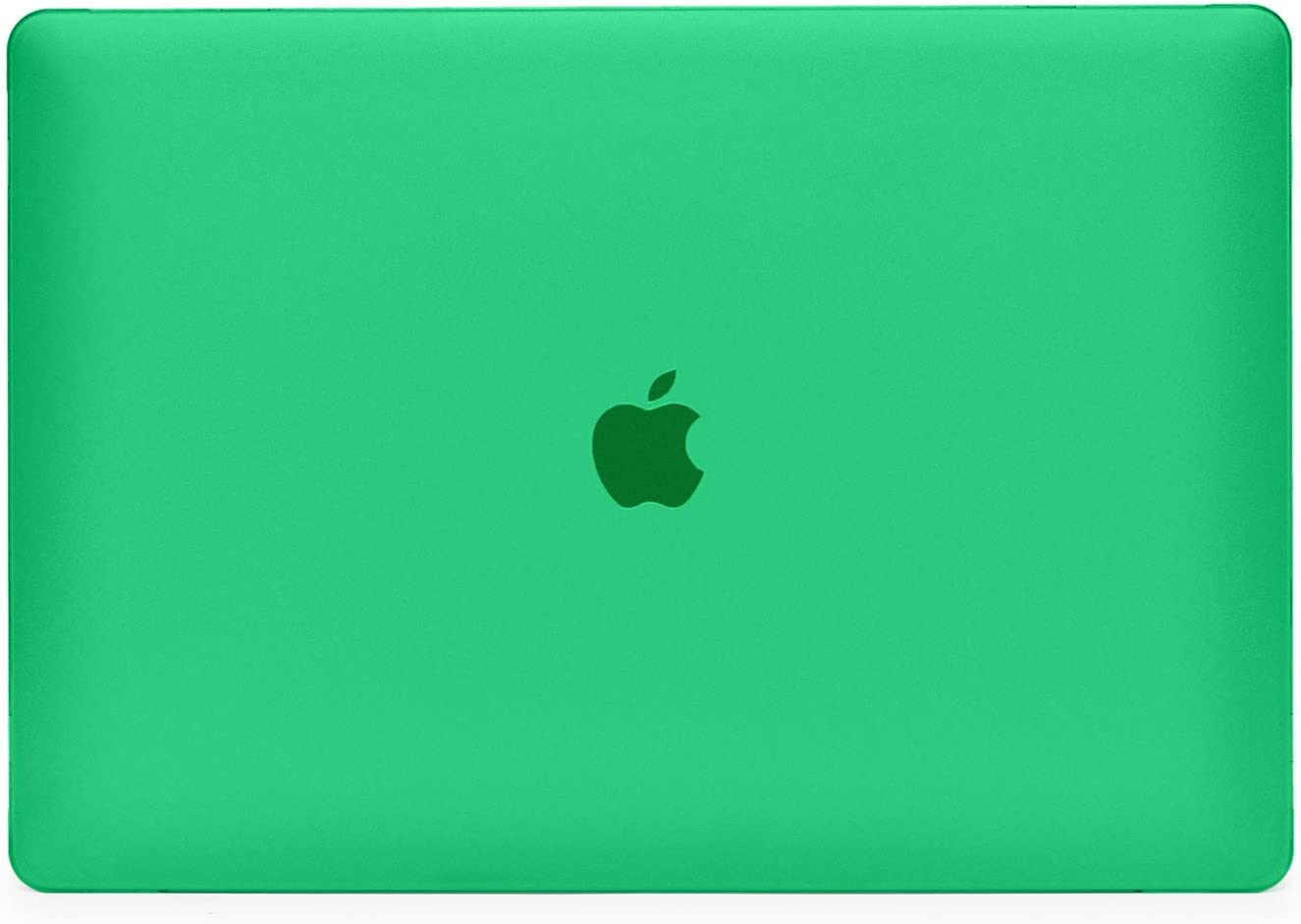 """iPearl mCover Hard Shell Case for 15-inch Model 2016 A1707 / 2018 A1990 MacBook Pro (with 15.4"""" Retina Display, with Touch Bar & Integrated Touch ID Sensor, Thunderbolt 3 / USB-C Ports) - Green"""
