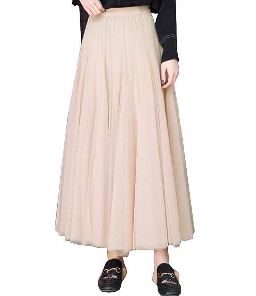 CHLXI Vestido De Manga Corta Vestido De Mujer Blusa De Gasa Plisada,A-OneSize