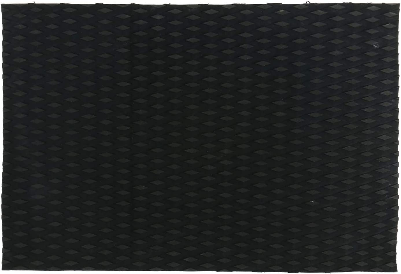 Kayaks Amarine Made 2-Pack Universal Non-Slip Traction Pad Deck Grip Mat with Trimmable EVA Sheet 3M Adhesive for Boat Decks Surfboards,Skimboards 20in x 20in,Black