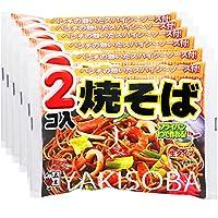 Six Itsuki food 2 co-fried noodles 340g ~