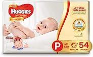 Huggies Fralda Soft Touch Mega P, 54 Fraldas