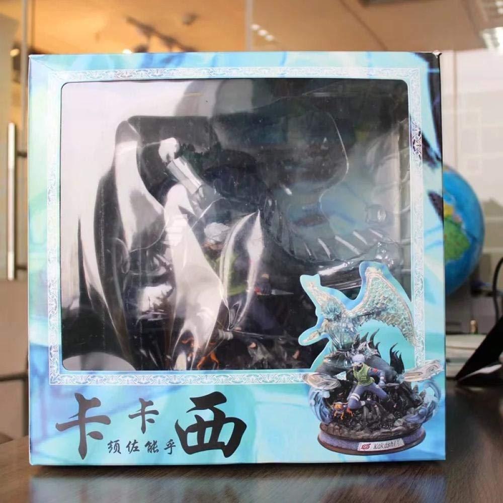 Figuarts-Naruto Uchiha Susano Nobu Sasuke Kakashi Modelo de Estatua Luminosa en Caja-GK Susano Nosuke
