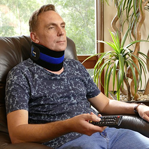 ComfyMed Neck Brace CM-NB18 Cervical Neck Support Collar for Men and Women (LGE 15'' to 18'') by ComfyMed (Image #1)