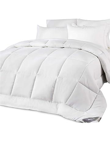 8d67940720 Bedsure Piumino Matrimoniale Estivo Bianco 250 x 205 cm - Piumone Letto  Matrimoniale Leggero Morbido Anallergico