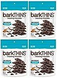 BarkThins Snacking Chocolate 4.7oz (Dark Chocolate Coconut, 4 Pack)