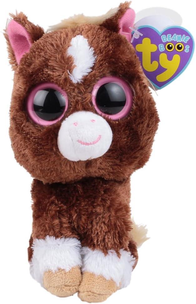 10 Ty Beanie Boos Buddy Light Brown Dakota the Horse Plush Toy