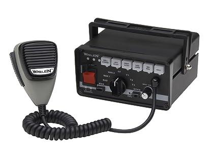 amazon com whelen 295slsa6 siren and light controller automotive rh amazon com Siren Whelen 295Hfsa6 Wiring-Diagram Box Whelen Siren 295SLSA6 Manual