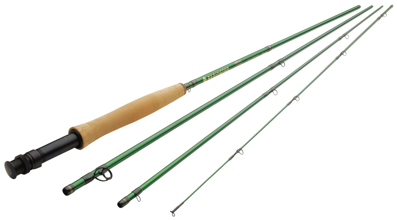Redington Fly Fishing Rod 386-4 Vice Rod with Tube 3WT 8'6'' (Piece 4) by Redington
