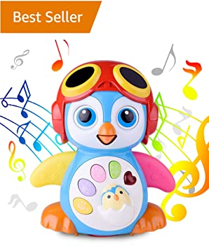 b410431add BABY-TOYS Musical Dancing Penguin Toy For Boys and Girls Kids or Toddlers –  Features different Modes, lights, Sounds – Fun Storytelling Toy By ...