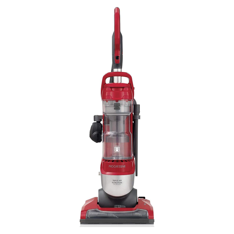 Kenmore 10135 Pet FriendlyBagless Progressive Upright Vacuum w/Pet Handi-Mate, HEPA Filter, Telescoping Wand, 4-Height Adjustments, 2 Cleaning Tools-Red/Silver