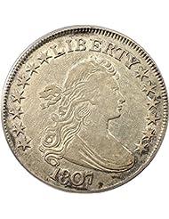 1807 P Bust Half Dollars Draped Bust Half Dollar XF45 PCGS\CAC