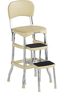 Super Amazon Com Cosco 11 120Cby1 Retro Chair Step Stool Yellow Spiritservingveterans Wood Chair Design Ideas Spiritservingveteransorg