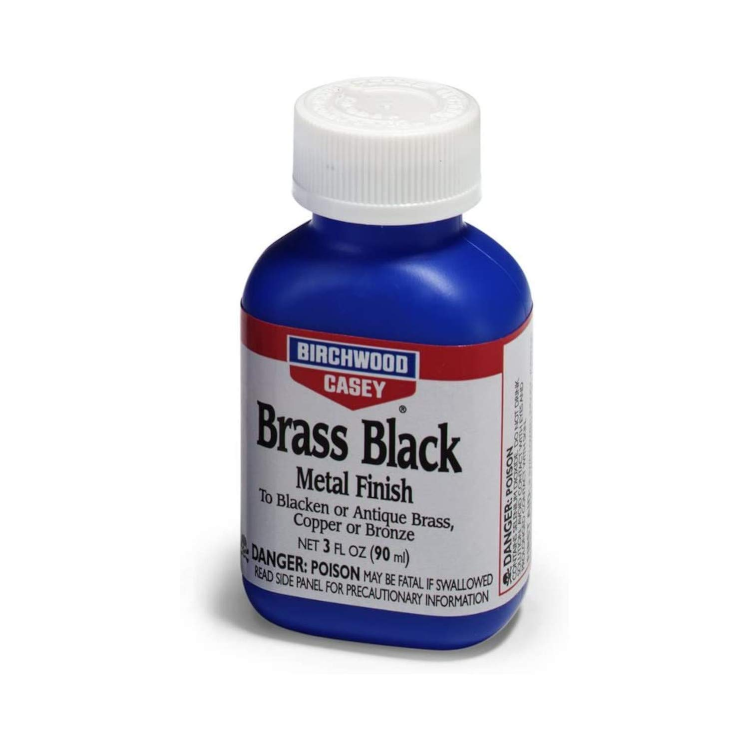 Birchwood Casey Brass Black Metal Finish, 3-Ounce