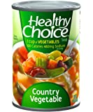 Healthy Choice Country Vegetable Soup, 15-Ounce Cans (Pack of 12)