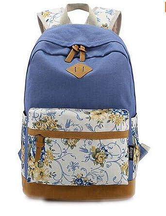 b637de47cb Canvas Match Nubuck Leather Satchel Rucksack Backpacks School Bags For  Girls Mochila Escolar Printing Backpack School