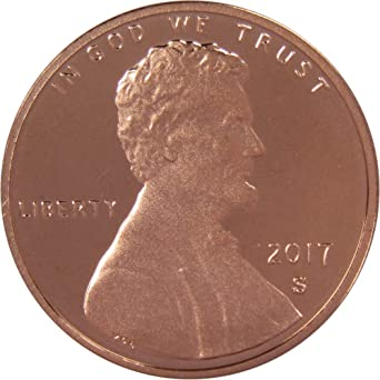 2019 S PROOF Lincoln Shield One Cent Coin Made in USA 1c Penny In Stock