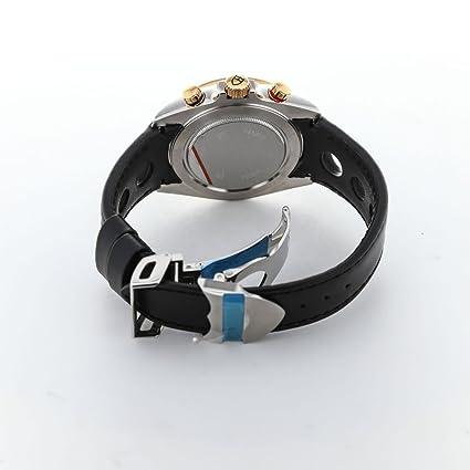 dbfeb9802eb Amazon.com: Tudor 20551N-LTHR/BLK IND Grantour Chrono Flyback Men Leather  Watch: Watches