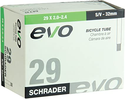 "EVO  26/"" x 2.0--2.4/""   BICYCLE SCHRADER VALVE INNER TUBE"