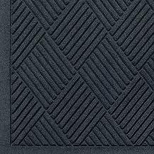 Andersen 221 Waterhog Fashion Diamond Polypropylene Fiber Entrance Indoor Floor Mat, SBR Rubber Backing, 3-Feet Length X 2-Feet Width, 3/8-Inch Thick, Charcoal