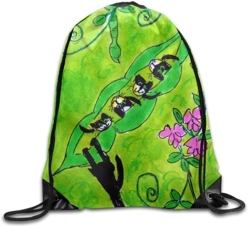 Mochila con cordón, Mochila Deportiva, Mochila de Viaje,Ping Pong Printed Cute Drawstring Backpack Teen Girl Lightweight Travel Bag Tote Gymnastics