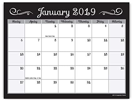 Calendar February 2020 Fancy Amazon.: Guajolote Prints 2019 2020 Magnetic Monthly Calendar