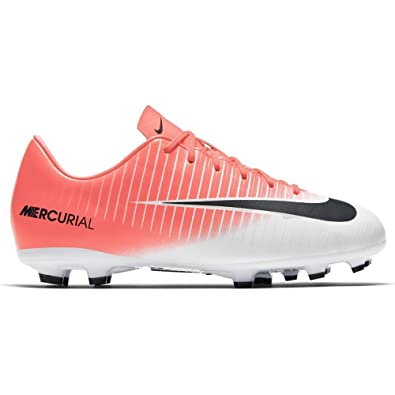 9ea36ab57 Nike Jr. Mercurial Victory XI FG Soccer Cleat (3Y) Racer Pink: Buy Online  at Low Prices in India - Amazon.in