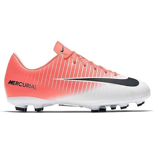 low priced 24f57 d29cd Nike Mercurial Vapor XI Fg Jr 831945 601, Sneaker Unisex-Adulto, Mehrfarbig  (