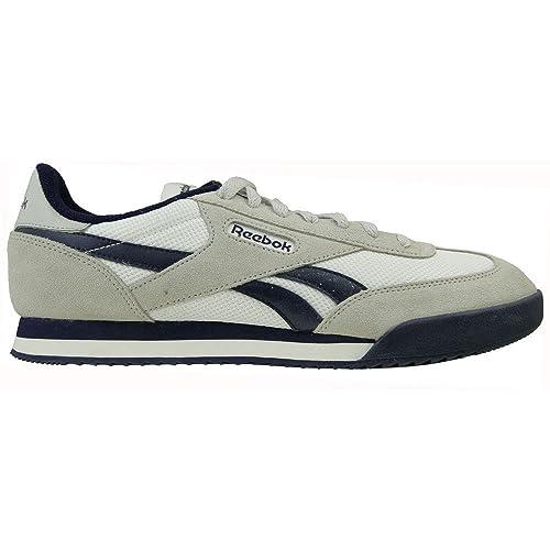 Reebok - Royal Rayen 2 - V72061 - Color  Grey-Navy Blue-White - Size ... 231cd562a