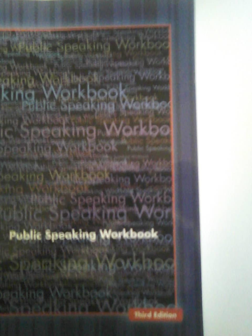 Public Speaking Workbook: Katie Dotts: 9780077355296: Amazon.com ...