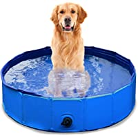 Zone Tech Collapsible Bathing Pool - Premium Quality Easy to Store Collapsible Foldable Bath Pool for Kids and Pets