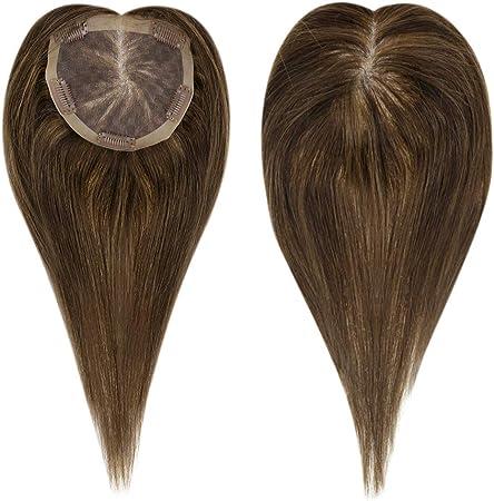 LaaVoo 12 Pulgadas Hair Toppers Adorno para Cabello Parte Superior ...