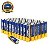 ALLMAX All-Powerful Alkaline Batteries- AAA (60-Pack), Ultra Long Lasting, Leak-Proof, 1.5V Cell