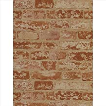 Wallpaper York Inpired by Color Country and Lodge Stuccoed Brick Wallpaper PA5466
