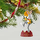 Hallmark Keepsake 2017 LOONEY TUNES This Is It BUGS BUNNY Musical Christmas Ornament
