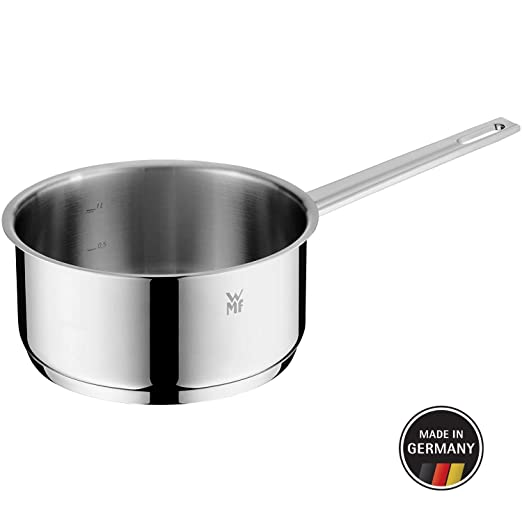 WMF 784166381 Vario Cuisine-Cazo sin Tapa 16cm, Cromargan, acero inoxidable