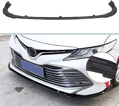 Black Front Bumper Lip Cover Trim For Toyota Camry L LE XLE 2018 2019
