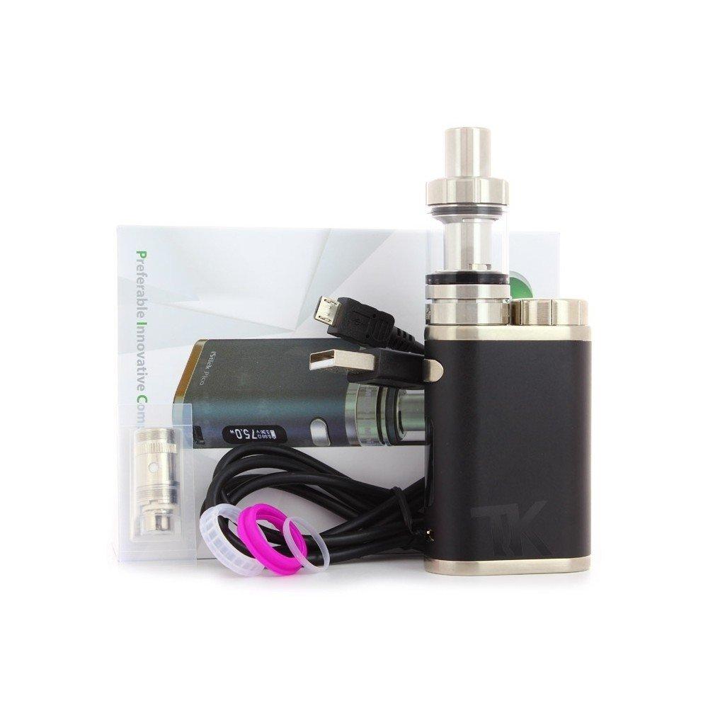 Auténtico Eleaf Istick Pico Cigarrillo electrónico 75W Kit de inicio (Gris) Sin Tabaco y Sin Nicotina: Amazon.es: Salud y cuidado personal