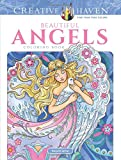 #4: Creative Haven Beautiful Angels Coloring Book (Adult Coloring)