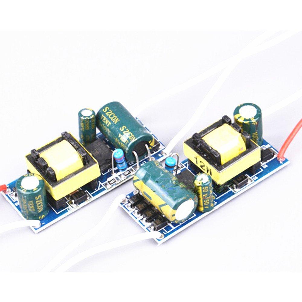 AC85-265v 280-300mA 8-12w LED Light lamp Driver Power Supply