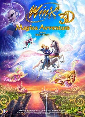 11 x 17 Winx Club 3D: Magic Adventure Movie Poster