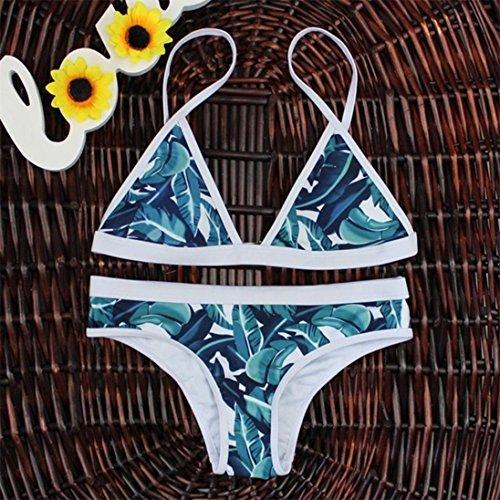 Ropa de baño, FAMILIZO Mujeres Traje De BañO Mujeres Push-Up Acolchado Bra Bandage Bikini Set Traje De BañO Swimwear