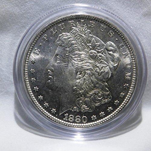 (1880 Morgan Silver Dollar Almost Uncirculated)